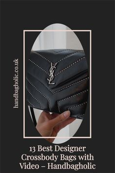 Discover the best designer crossbody bags from YSL to Chanel and Louis Vuitton complete with video on Handbagholic. #YSLBag #DesignerBag #YSLLouLouToy #YSLLouLou Soho Disco Bag, Gucci Soho Disco, Best Crossbody Bags, Designer Crossbody Bags, Ysl Bag, Chanel Boy Bag, Louis Vuitton Odeon, Saint Laurent Handbags
