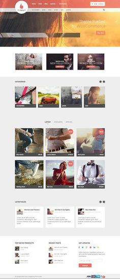 FireUp Responsive WordPress eCommerce Theme #responsive -  #wordpress