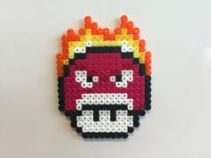 Anger - Inside Out mushroom perler beads by Bjrnbr - Björn Börjesson