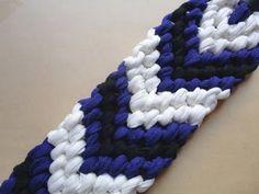 Tutorial XL para hacer pulseras de nudos V / V-shape knot bracelet XL Tutorial