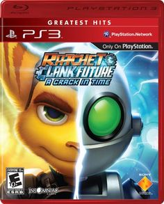 Ratchet  Clank Future A Crack In Time  Playstation 3 * Learn more by visiting the image link. Note:It is Affiliate Link to Amazon.
