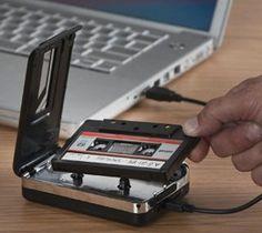 USB Cassette to MP3 Converter – $50
