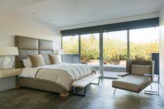 The Refined Group - Midcentury Modern Desert Master Bedroom