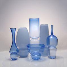 Handblown Glass Vases // William Couig