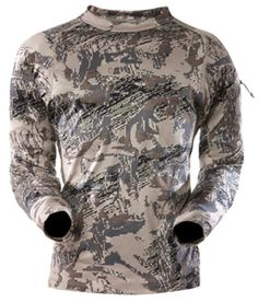 4d8ca88018c97 Sitka™ Long-Sleeve Core Base Layer Crew – Camo Antimicrobial technology  Moisture-wicking, fast-drying polyester Four-way stretch for increased  mobility