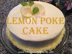 MamaCheaps.com: Lemon Poke Cake Recipe – Great Easter Dessert Idea!