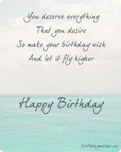 birthday image with sea