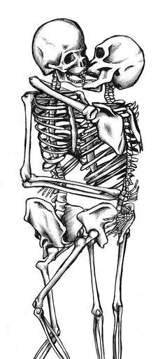 Skeleton's Embrace by Tiggi-Stones on DeviantArt
