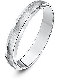 Theia Bague Or - 375/1000 Or blanc Unisexe - Taille 56 (17.8)