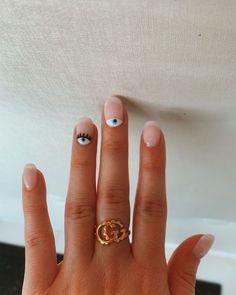 Cute Acrylic Nails, Cute Nails, Pretty Nails, Nail Polish, Gel Nails, Manicures, Nail Nail, Nail Ring, Minimalist Nails