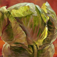 Cabbage Head Painting - Andrea Kantrowitz