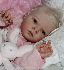 Beautiful Blonde Reborn Baby from Tamara Auty of Flutterby Hearts Reborns