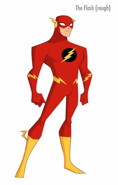 The Flash (Justice League Action) by Shane Glines Superhero Kids, Superhero Characters, Dc Characters, Character Model Sheet, Character Modeling, Comic Character, Main Character, Dc Heroes, Comic Book Heroes