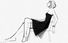 Got 99 Problems but a Shrink Ain't One… // blog post by Garance Dore - she draws