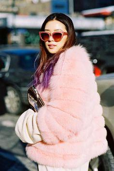 New York Fashion Week AW 2014. Street style. ///