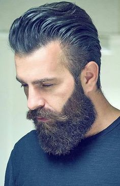 How to Get Beard Styles for Round Face. Are you looking for the best beard styles for round face individuals? There are many different beard styles that you can use for a more rounded face. Pompadour Men, Pompadour Hairstyle, Modern Pompadour, Beard Styles For Men, Hair And Beard Styles, Hair Styles, Great Beards, Awesome Beards, Men's Hairstyles