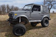 My personal Samurai is up for sale I'm sad to say. Check it out below.  1988 Suzuki Samurai $6500 http://fayar.craigslist.org/cto/5459931671.html