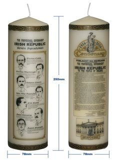 the 1916 rising candles are designed to commemorate the centenary of the 1916 rising in ireland and are available from the 1916 easter rising online store.