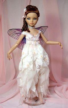 Ellowyne Wilde doll (Tonner doll Co.) Dressed as a fairy.