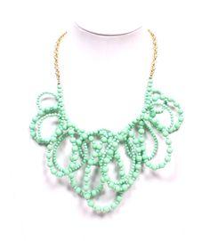 Beaded Loop Necklace