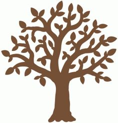 Silhouette Design Store - View Design #66325: family tree