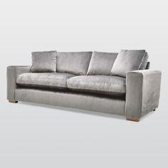 Porto Velvet 4 Seater Sofa