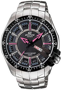 Casio Silver Stainless Steel Analog Men Watch – ED418