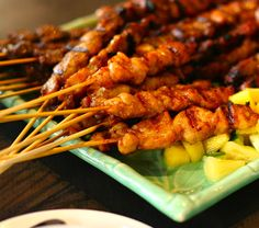 Grilled Pork Satay-made it for vietnamese subs, yummy!