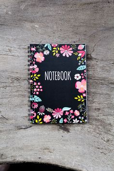Flower notebook spiral notebook journal lined by PaperNotebook, zł21.00