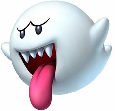 Boos are a ghost type enemy in the Mario Bros. franchise, making their debut in Super Mario Bros. They mostly appear in Ghost Houses, but in the middle Super Mario And Luigi, Super Mario World, Super Mario Brothers, Mario Kart, Mario Und Luigi, Mario Bros., Super Mario Birthday, Mario Birthday Party, Bolo Do Mario