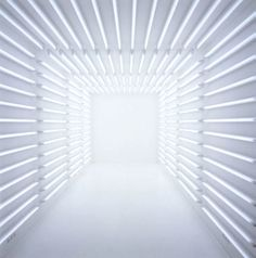 passage way #light installation. don't walk into the light!