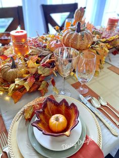 Dining Delight: Thanksgiving Tablescape for a Small Gathering