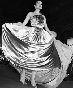 Carolina Herrera's debut runway show, 27 April 1981