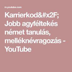 Karrierkod/ Jobb agyféltekés német tanulás, melléknévragozás - YouTube