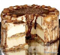 Receta de Torta tipo carlota de café