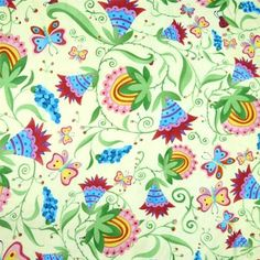Jacobean fabric