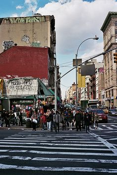 New York street crossing... Feels just like this but much less roomy!