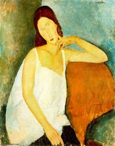 untitled (6168) by Amedeo Modigliani (1884-1920, Italy) ✏✏✏✏✏✏✏✏✏✏✏✏✏✏✏✏ IDEE CADEAU / CUTE GIFT IDEA  ☞ http://gabyfeeriefr.tumblr.com/archive ✏✏✏✏✏✏✏✏✏✏✏✏✏✏✏✏