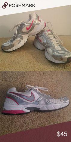 Nike Air. Size 6.5. Nike AirAthletic ShoesNike ShoesPink WhiteSneakersNike  ...