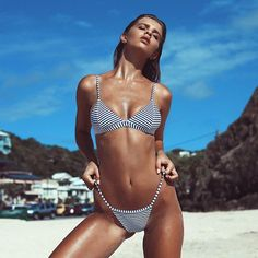 BEACHIN' 💦   @kristinamendonca shot for @frankieswimwear