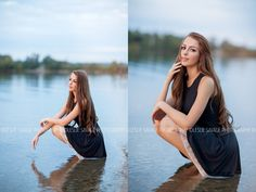 Senior Picture Ideas for Girls | In Water