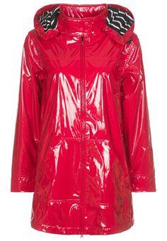Armor lux CIRE BRILLIANT Waterproof jacket red