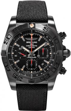 Image of Breitling Chronomat 44 Blacksteel MB0111C3/BE35-253S