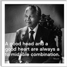 Good head + Good heart = Success