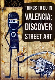 One of the best things to do in Valencia, Spain is to go hunting for street art! Click to see photos of all the different artists and check out Valencia Urban Adventures to book the tour!