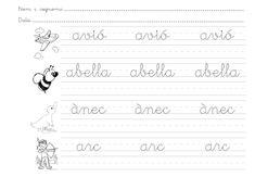 Guaita Lola!: A escriure amb lletra lligada!
