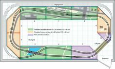 ... #ModelRailroading #ModelRailroad #Modelling #ModelTrian #TrackPlans #Layouts
