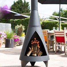 Steel Chiminea Fire Bowls available from the Garden4Less UK Shop Chiminea Fire Pit, Bbq Uk, Wood Store, Free Cover, Patio Heater, Fire Bowls, Steel Mesh, Murcia