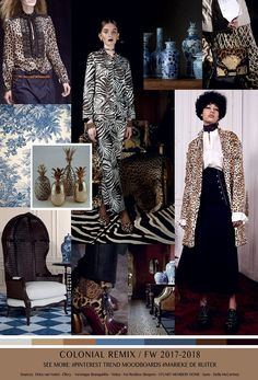 TrendSenses Moodboard Colonnial Remix FW 2017-2018