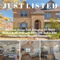 23 best homes for sale images in 2019 arlington texas beautiful rh pinterest com